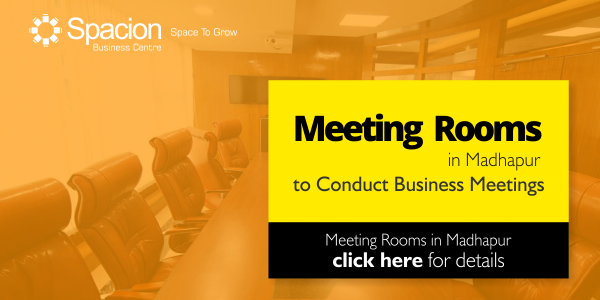 Meeting Rooms in Madhapur, Hyderabad to Conduct Business Meetings