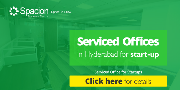 Serviced Offices In Hyderabad for Startups
